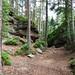 Městské maštale – skalní útvary Liščí díry, foto: Petr Nejedlý