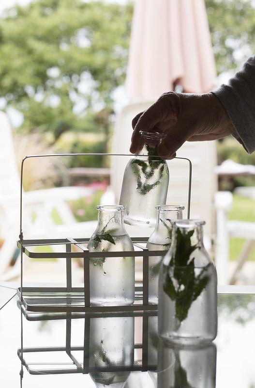 Bottles for gin or flowers