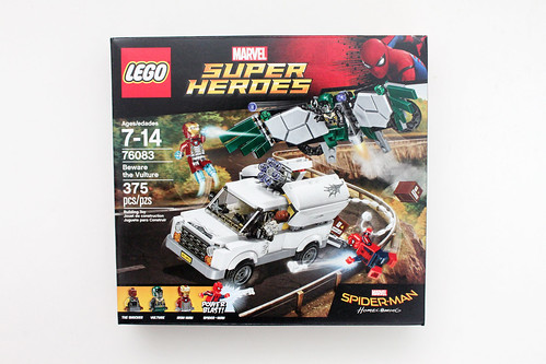 LEGO Marvel Super Heroes Spider-Man: Homecoming Beware the Vulture (76083)