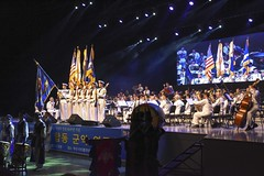 Sailors from Combined Republic of Korea (ROK)-U.S. Navy Band performs the national anthem during a combined anniversary celebration in Busan. (U.S. Navy/MC2 Jermaine M. Ralliford)