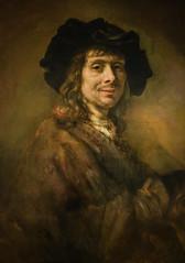 Rembrandt workshop - Portrait of a Young Man, 1662 at Saint Louis Art Museum - St Louis MO