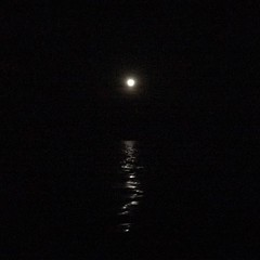 Full moon sailing en route to Airlie Beach.