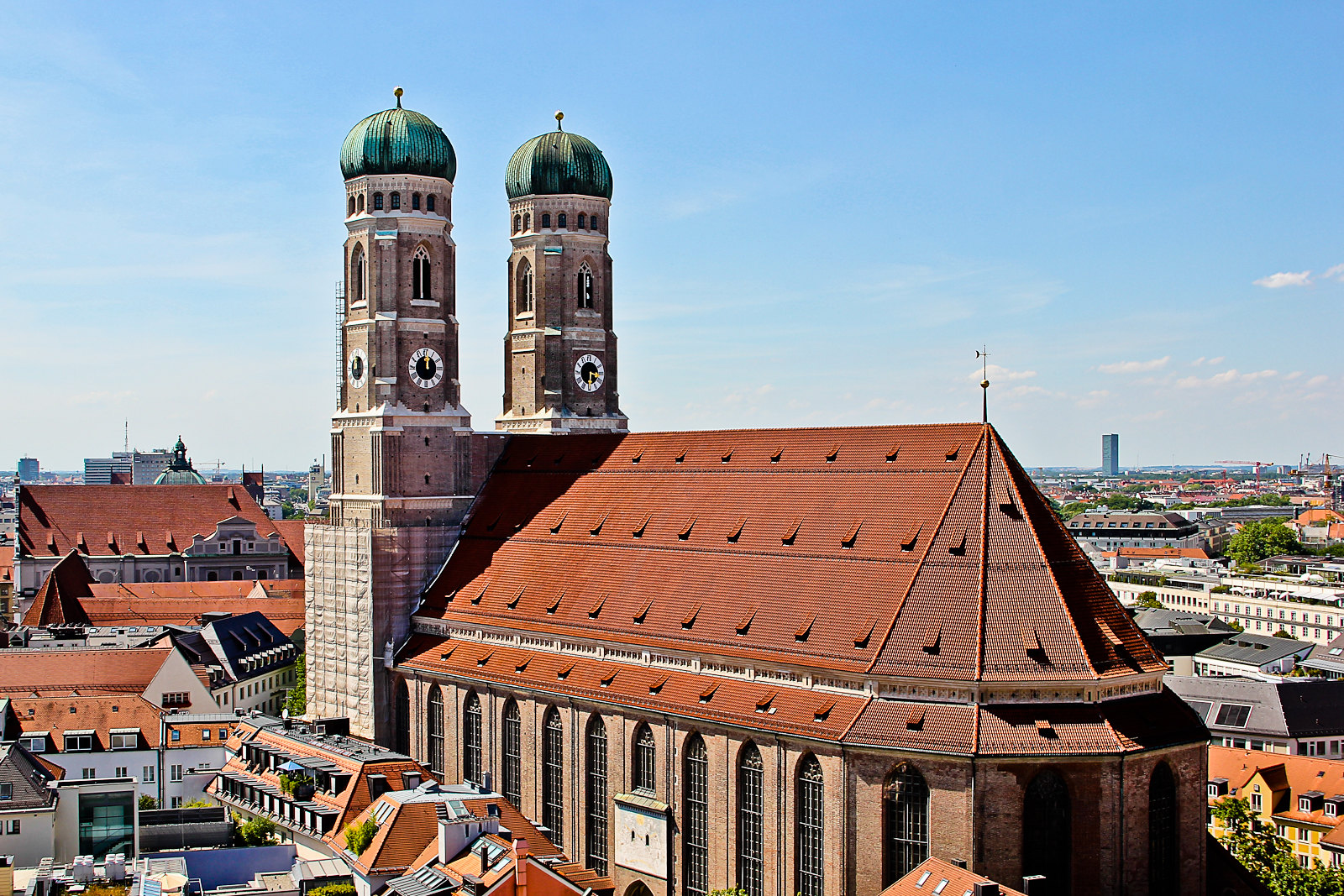 Frauenkirche, from Neurathaus tower