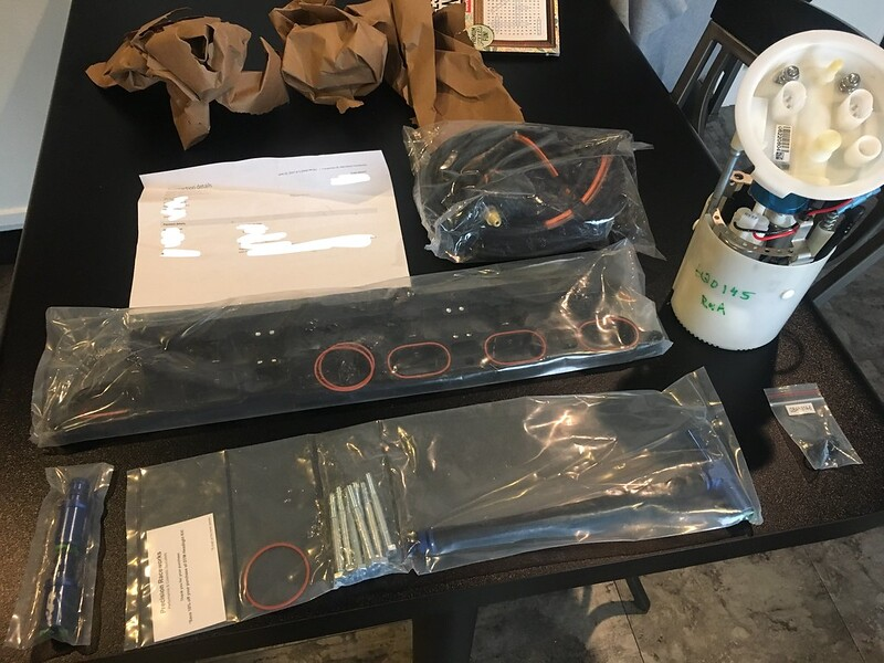 Precision Raceworks Stage 3+ Fuel Pump and Port Injection Kit