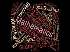 Mathematics (Grade 6 to O/L) English medium