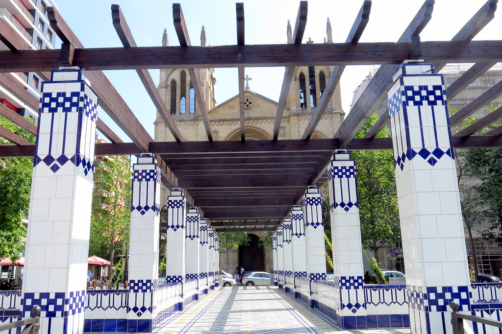 Una plaza de Gijón