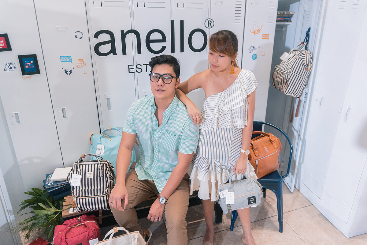 Branches of Anello in Philippines - Seph Cham and Trice Nagusara