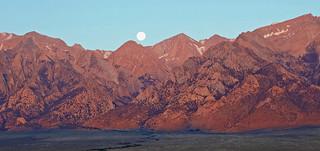 Moon Fall, Sierra Nevada, Independence, CA 2015
