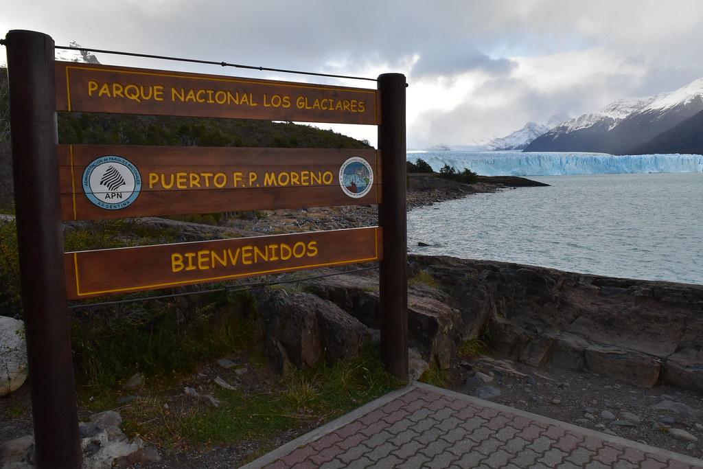 Glaciar Perito Moreno desde el bote