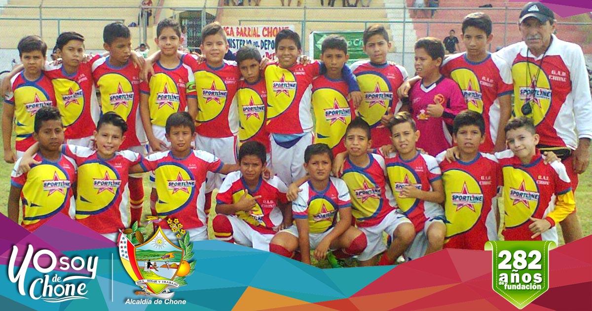Escuela de fútbol municipal campeón del sub 12 barrial 2017