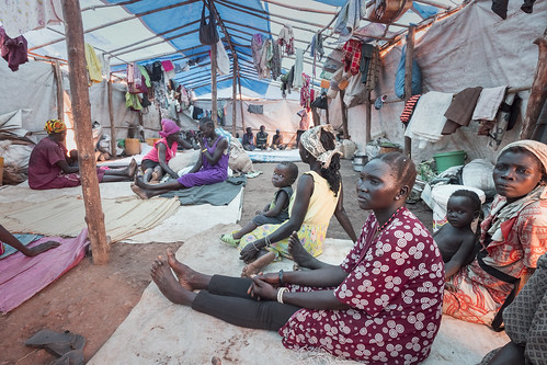 South Sudan. High Commissioner visits displaced in Juba
