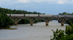 Amtrak Auto Train_crossing Rappahanock River