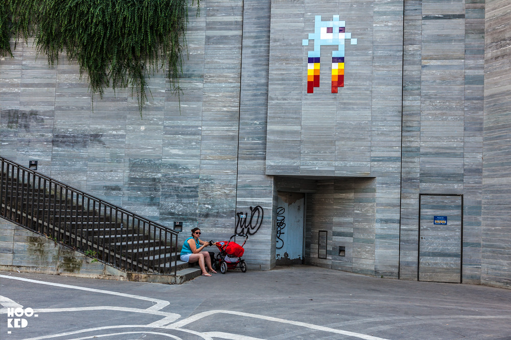 Invader, Paris Street Art. Photo ©Hookedblog / Mark Rigney