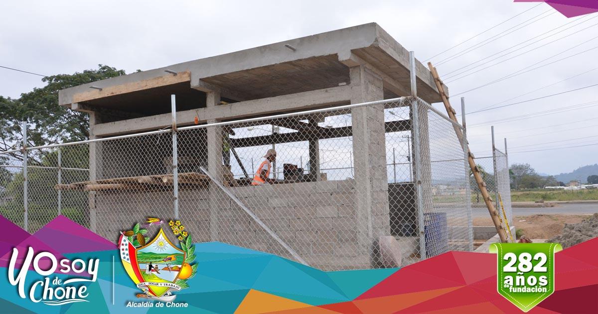 Continúan los trabajos en estación de bombeo de la 30 de Marzo