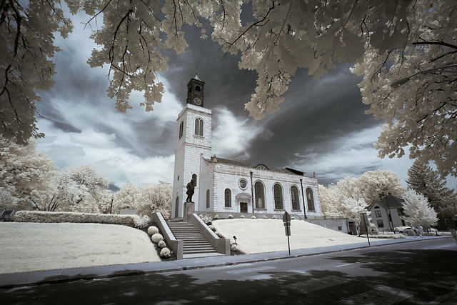 The Church of St. Mary the Virgin, Aldermanbury Infrared