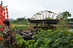 A working water wheel fascinated me