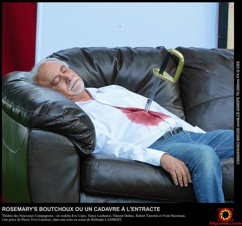 ROSEMARY'S BOUTCHOUX OU UN CADAVRE À L'ENTRACTE