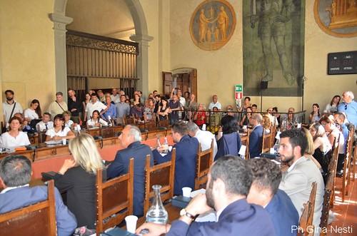 Pistoia, prima seduta del nuovo Consiglio Comunale foto di Gina Nesti
