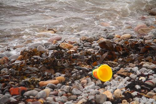 Bucket Washed Ashore