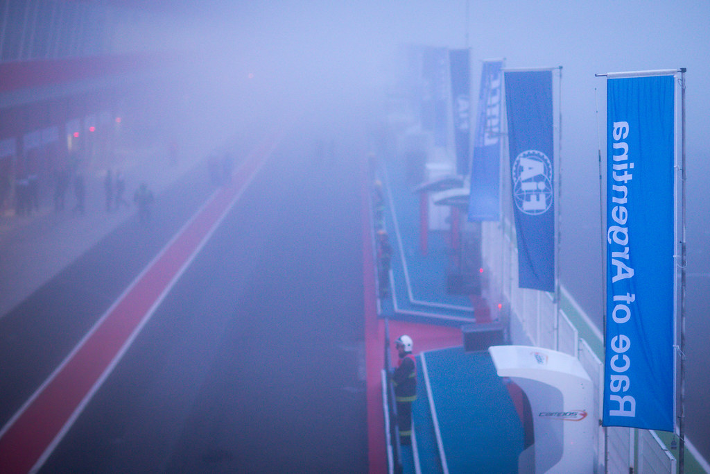 fog ambiance during the 2017 FIA WTCC World Touring Car Race of Argentina at Termas de Rio Hondo, Argentina on july 14 to 16 - Photo Alexandre Guillaumot / DPPI