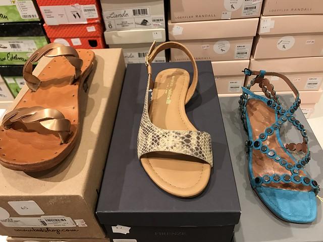 anthropologie Italian sandals