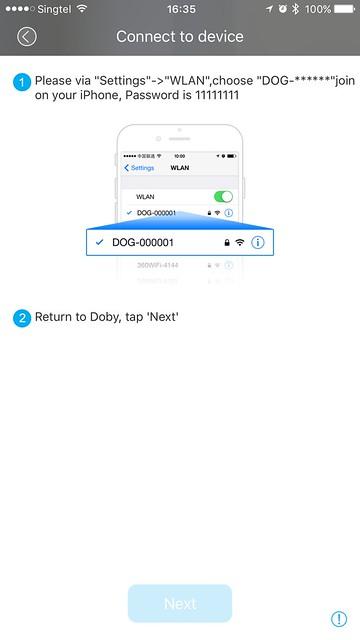 Doby iOS App - Setup #4