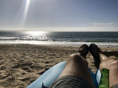 Sand City, CA. Paragliding, scuba, camping trip