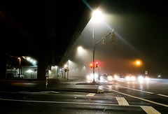 Night Fog at Lougheed