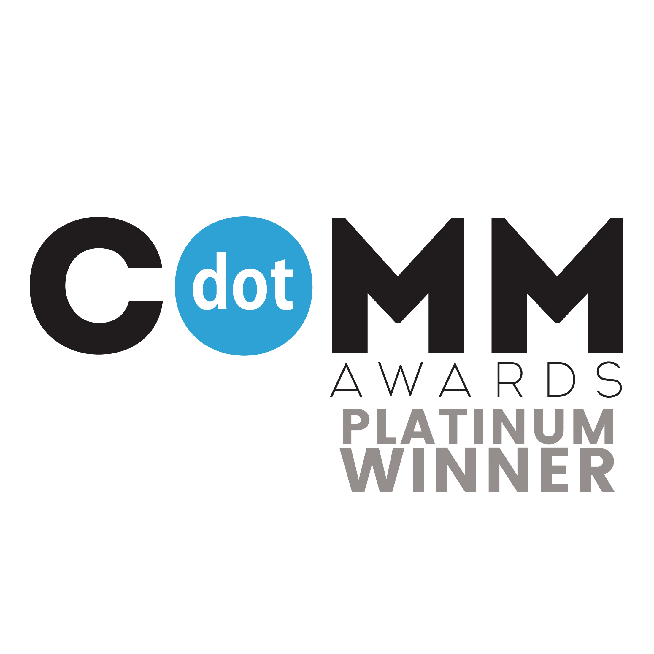 (AMCP) dotCOMM Awards_Platinum Winner