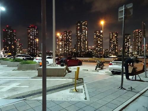 辰巳第1PAの駐車スペース