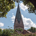 Lüneburg: Turm der Johanniskirche - Spire of St. John's Church by riesebusch