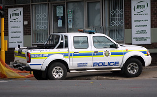 South African Police Nissan NP300