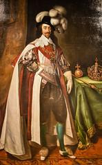 Daniel Martensz Mytens the Elder - King Charles I of England, 1633 at Saint Louis Art Museum - St Louis MO