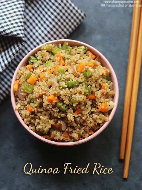Quinoa fried rice recipe