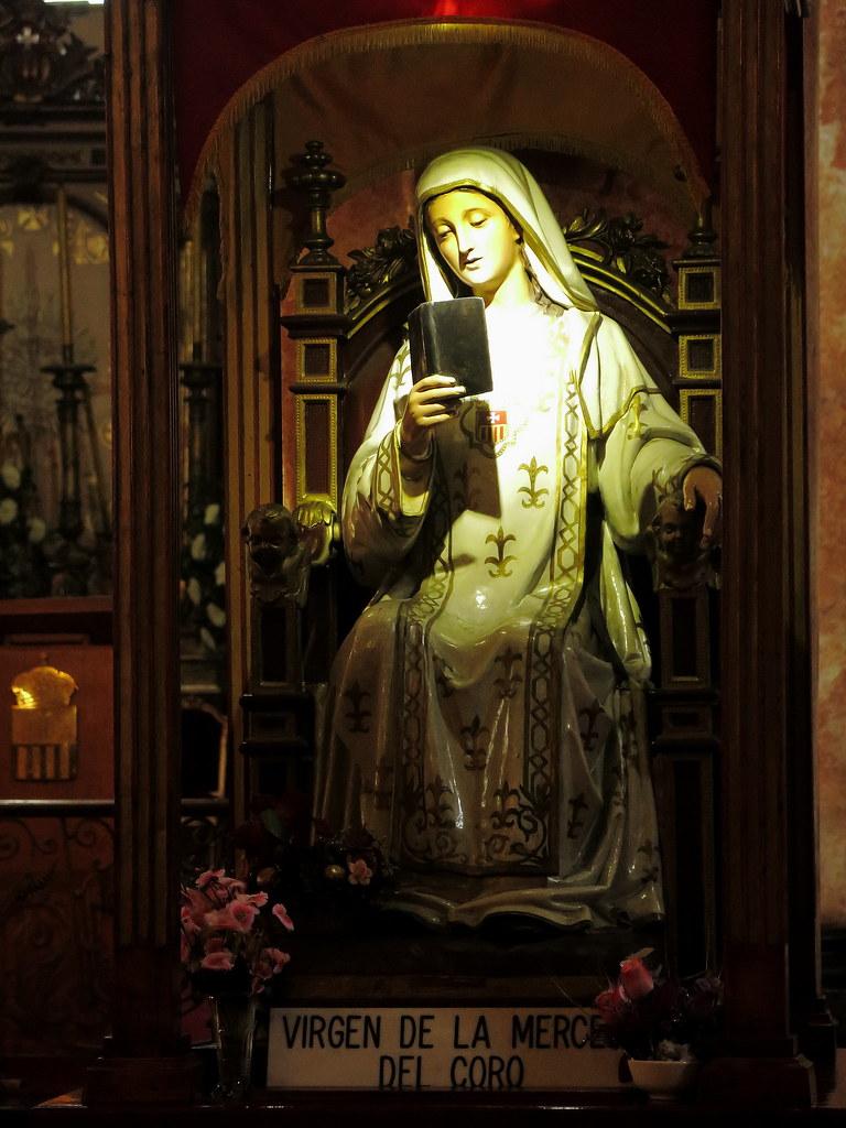Virgen de la Merced del Coro