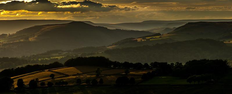 Win Hill, Summer Evening