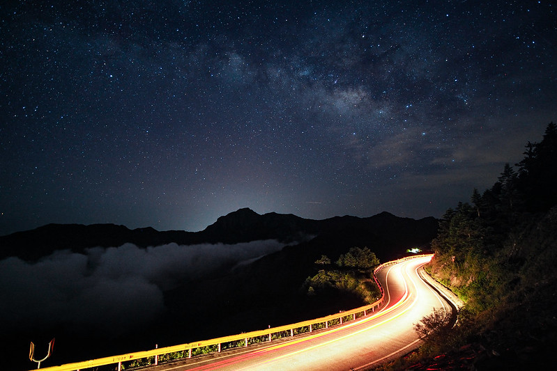 石門山銀河|合歡山 Hehuanshan