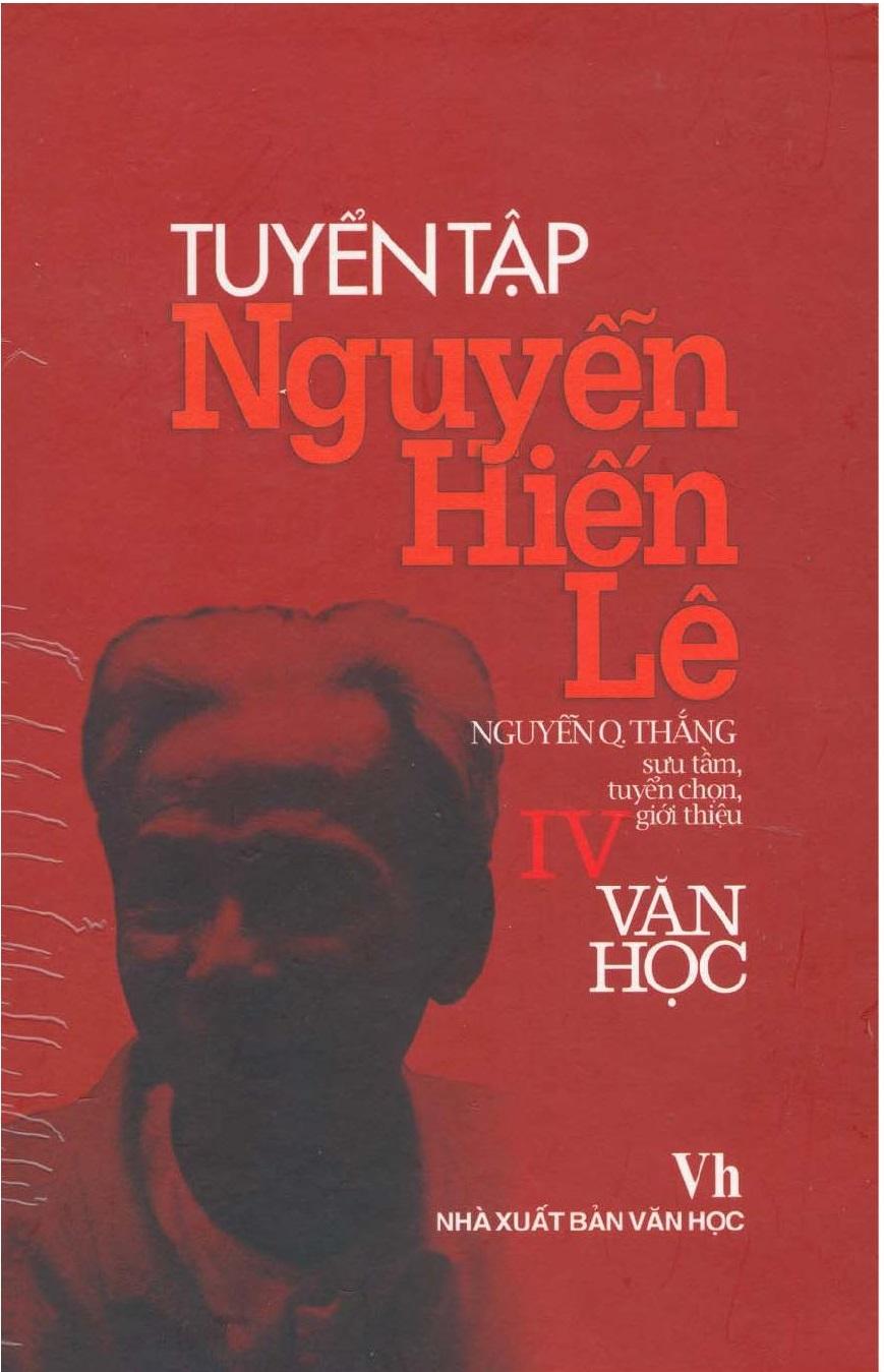 Tuyển Tập Nguyễn Hiến Lê tập 4: Văn học