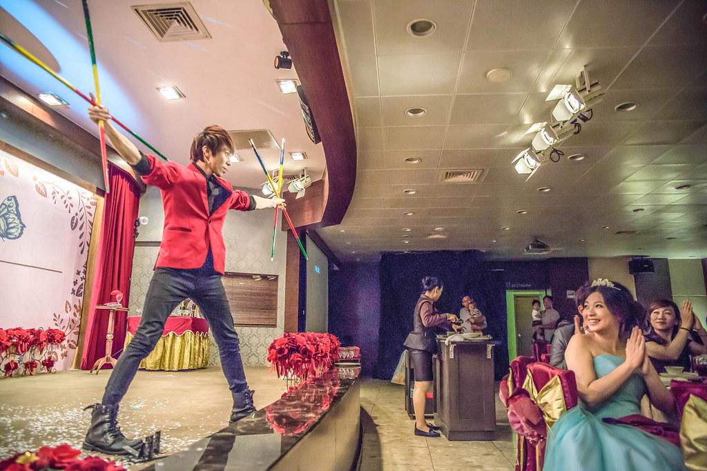 【魔力宏娛樂】魔術表演|柏勳&衣汝婚禮|高雄寒軒和平店
