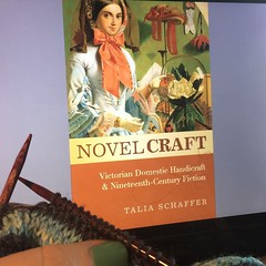 This is my day: no complaints here. #novelcraft, #knitting, #victorianlit, #phdlife