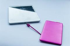 Tablet und Powerbar
