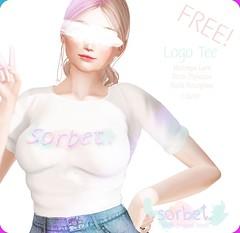 Sorbet. Logo Tee