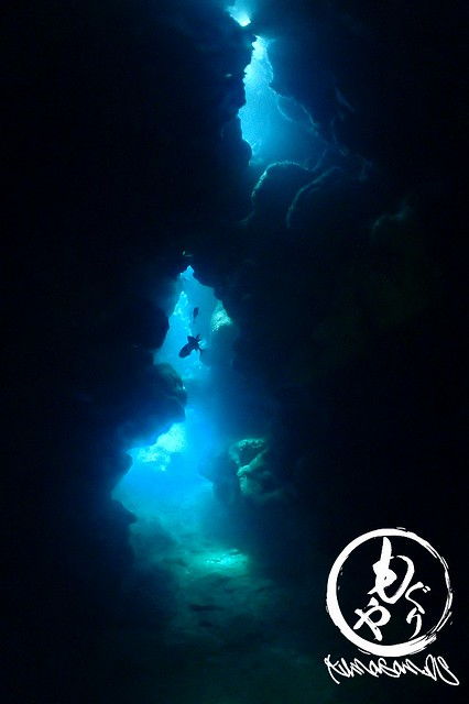 洞窟は中から外を見るのがオススメなのです。