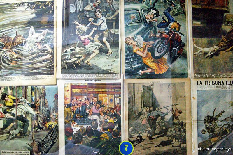 Иллюстрации из периодических изданий