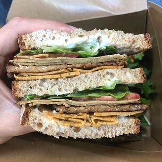 Sweet Pea Club - Sweet Pea Bakery | Portland Vegan Food Tour 2017 #portland #vegan sweetsimplevegan.com