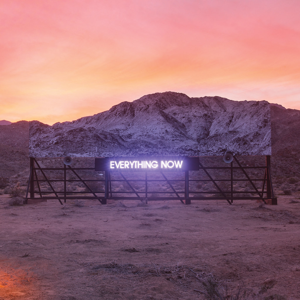 Arcade Fire - Everything Now - Cover Day