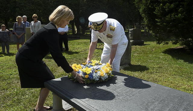 July 28, 2017 - 100th anniversary of Adm. Luce's death