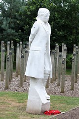 National Arboretum, England - Shot at Dawn Monument