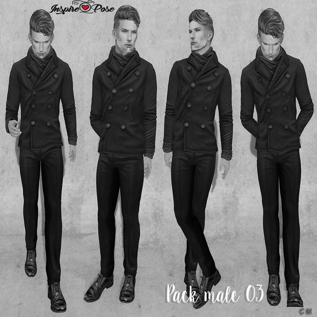 Inspire Pose - Pack Male 03 - SecondLifeHub.com