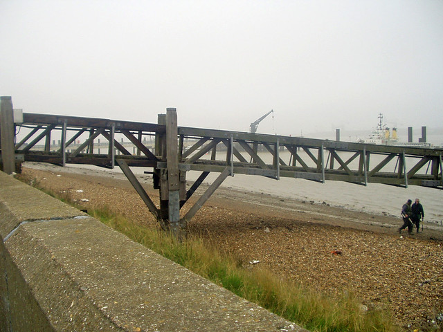 The Thames near Gravesend